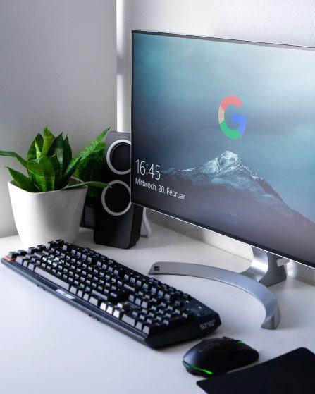 foto van computer